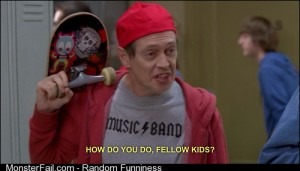 Whenever I go to the club these days