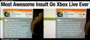 Xbox live comments
