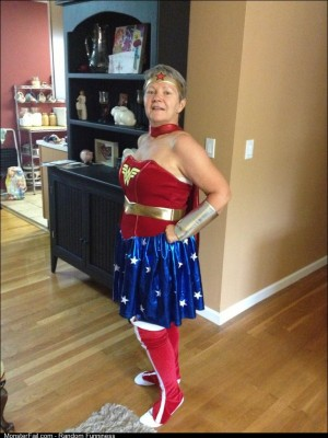 I ordered a Wonder Woman costume online