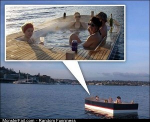 Funny Pics The Pool Boat