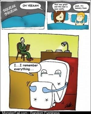 Poor Memory Foam