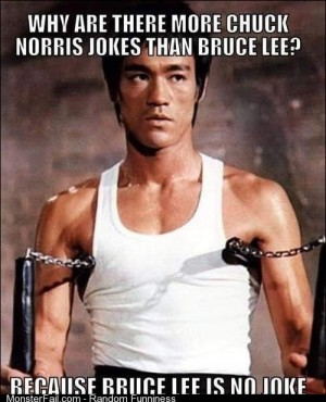 Why Are There No Jokes About Bruce Lee