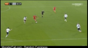 Gareth Bale wonder strike to win the match against Scotland in the 89th minute