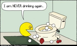 Pacman had a rough night