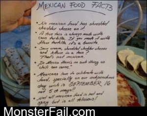 Mexican Food Facts