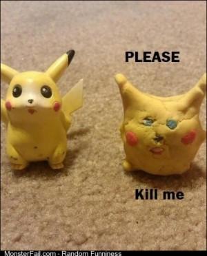 Poor Pikachu