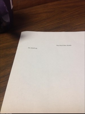 My students are writing short stories