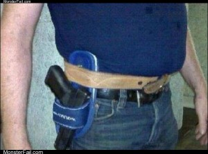 Home made holster