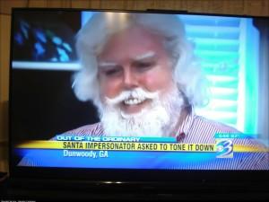 Tone it down Santa