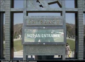 Fail entrance