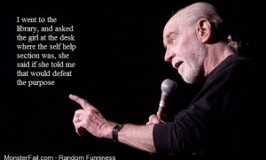One of my favorite quotes by George Carlin