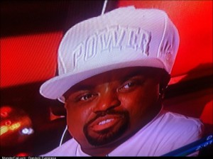 Ceelo Green wore a white power hat on The Voice the other night and I think he realized it