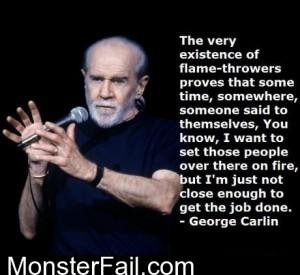 George Carlin FTW