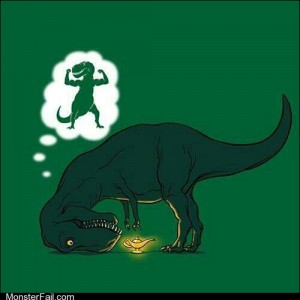 It sucks to be a trex