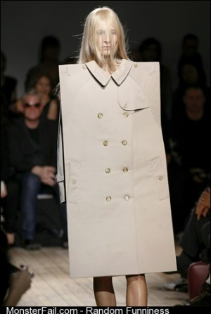 I will never fashion