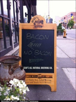 Funny Pics The Bacon Way