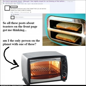 On the subject of toasters