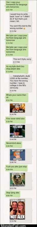 Not Alex