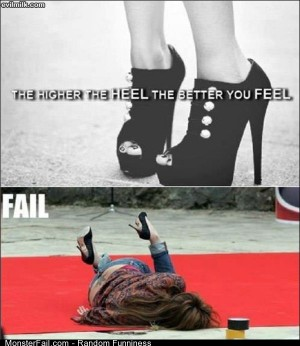 Funny Pics Higher Heels