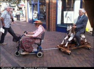 Funny Pics Monster Old People