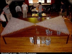 Funny Pics Serious Beer Pong