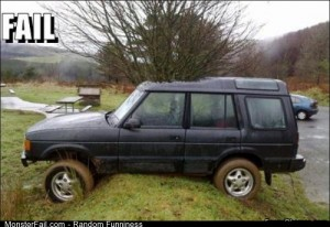 Fail off Roading Fail
