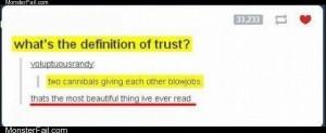 Of trust