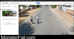 Google Street View Youd Better Run