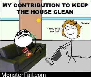 My To Keeping The House Clean