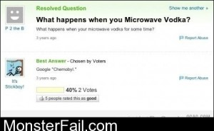 What Happens When You Microwave Vodka
