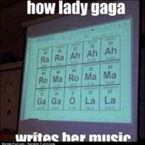 Lady gaga music science