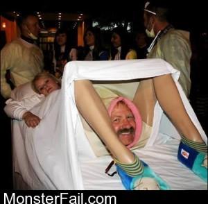 Halloween Costume DAFUQ