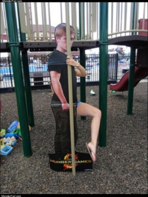 Weird leg