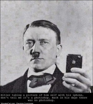 Funny Pics Hitlers Iphone