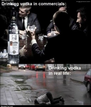 How vodka works