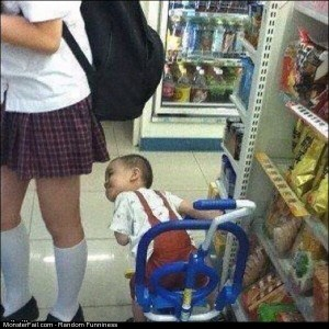 Funny Pics This Kid Is Ahead O