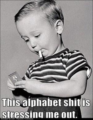Funny Pics Alphabet Is