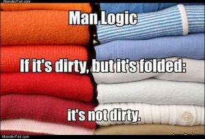 Man logic