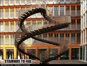 Stairway to fail