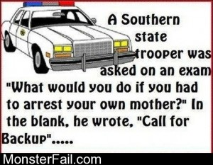 If You Had To Arrest Your Mother