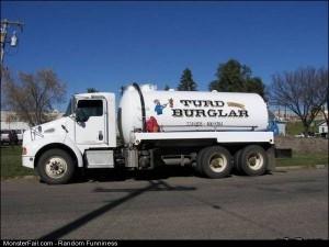 Funny Pics The Turd Burglar