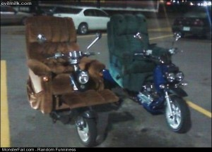 Funny Pics Motorized Lazy Boys
