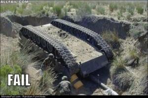 Fail tank Flipper