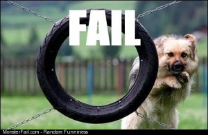 Puppy fail