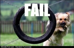 Puppy fail