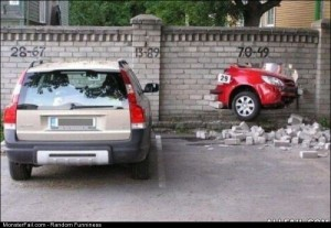 Fail reverse Parking