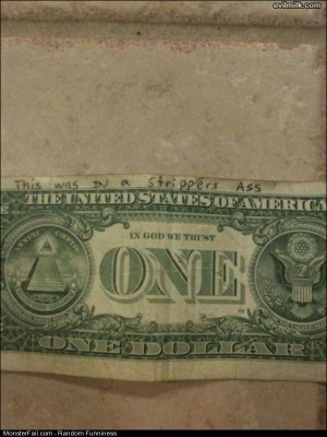 Funny Pics Clean Money