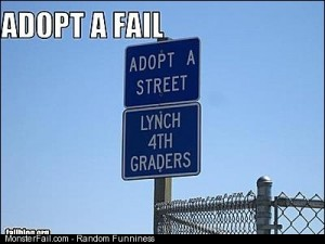 Adopt a fail