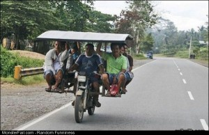 Funny Pics Bike Taxi
