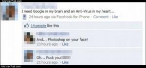 He needs google